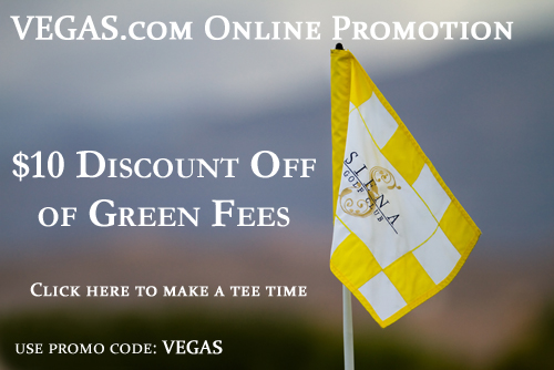 Siena Golf Club Flag in Las Vegas, Nevada